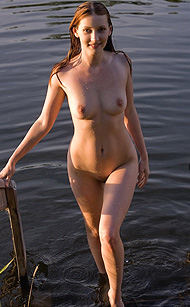 Erotikom.com and FEMJOY Pure Nudes present Vada, the delicious Redhead cooling her hotness at the lake. Impossible, if you ask Erotikom! Exclusively by FEMJOY.com in a 16 photos gallery