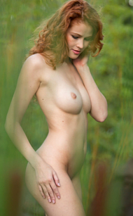 Femjoy Heidi Romanova Is Extremely Attractive, as all hot redheads with those magnificent white freckled butts! Photos by Dave Menich for this Femjoy Gallery with 16 pictures, sponsored for Erotikom