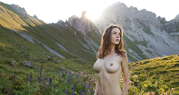 Femjoy Mariposa from Ukraine. Breathtaking mountains, even more breathtaking Female Beauty captured by the Nude Art Master Himself. Photography by Stefan Soell this Femjoy Gallery with 16 pictures, sponsored for Erotikom