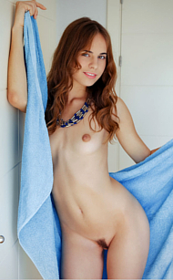 MET-Art Gracie is so erotically intense, a simple bath and towel drying view of her exquisitely shaped nude body is enough to tip us to lustful madness! Pics by Arkisi for the DANHIE Collection with 18 photos of pure sexyness