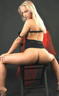 Erotikom.com and MPLstudios.com present The Blonde tight body of Tess, erotically getting nued from her black minidress, an erotic tour de force by Santiago Aztek, 12 photos full gallery for MPLstudios