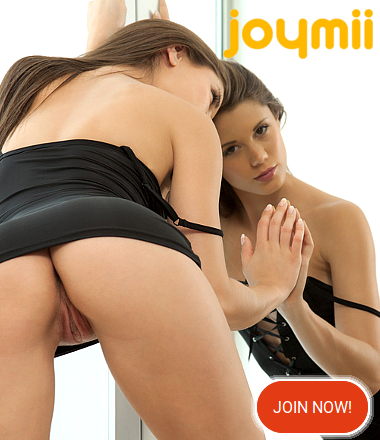 Joymii  Strapon Fun with a black dildo, Alecia Fox and Candy Alexa in a lesbian fuck of great pleasure! Joymii Videos, the Art of Porn with pure, perfect, beautiful erotic models orgasming with intense Pleasure, alone or when fucking their partners! Free video Sponsored by Joymii.com for Erotikom.com