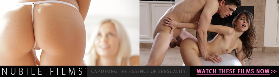 Nubile Films Very horny Anie Darling peels off her thong and gives a long wet and slurpy blowjob to her lover before kneeling for a doggy style pussy pounding to finally get her coveted cum facial!. Free video preview Sponsored by NubileFilms.com for Erotikom.com