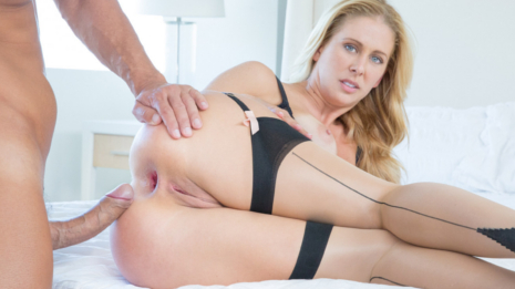 Tushy Studio gives you the Hot Wife Cherie Deville, delicious blonde who has a perfect ass made for anal gaping, the anus dilation is in charge of Cristian Devil's big hard cock! Sponsored by Tushy/AEBN for Erotikom